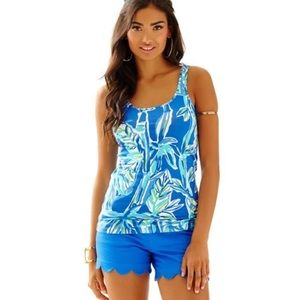 Lilly Pulitzer Printed Tabbie Blue Crush Bamboom S